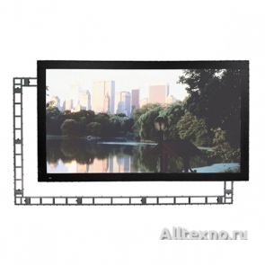 "Экран Draper StageScreen NTSC (3:4) 1143/450"" 686*914 CH1200V (CRS) silver frame no legs"